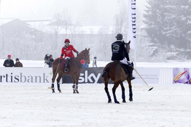 Sky ist erstmals Medienpartner des Snow Polo World Cup 2015 in Kitzbühel