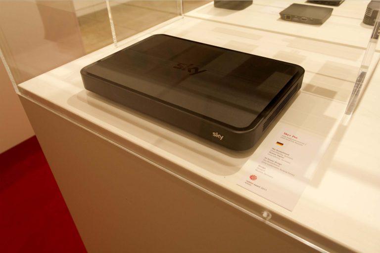 Der Sky+ Pro: Exponat im Red Dot Design Museum